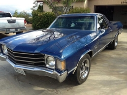 Chevrolet - 1972  El Camino Coupe