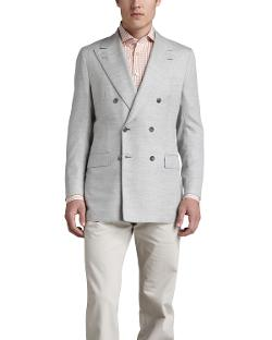 Kiton  - Basketweave Double-Breasted Blazer