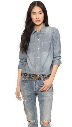Madewell  - The New Wash Chambray Shirt
