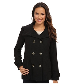 Jessica Simpson - Double Breasted Chail Wool Coat