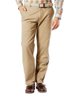 Dockers - Pacific Wash Khaki Classic Fit Flat Front Pants