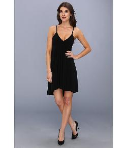 Kamalikulture  - High-Low Slip Flare Dress