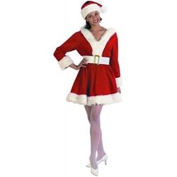 Halco  - Mrs. Santa Claus Perky Christmas Pixie Elf Costume