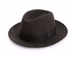 Barbisio  - Felted Rabbit Fedora Hat