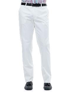 Etro - Flat-Front Pants, White