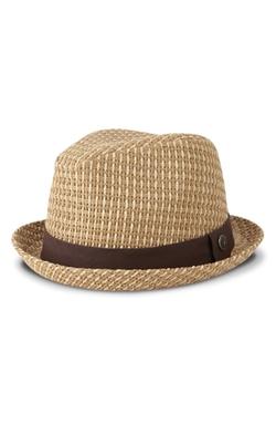 Ben Sherman - Open Vent Straw Fedora Hat