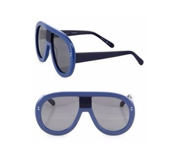 Stella McCartney - 60MM Shield Sunglasses