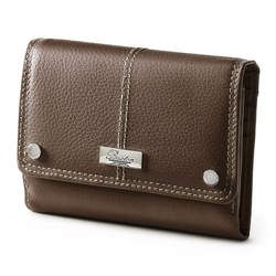 Buxton  - Wescott Multi-Organizer Leather Clutch Wallet
