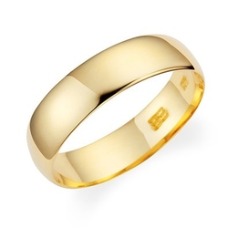 Wedding Band by Lovearing  - Plain Light Weight Wedding Band Ring