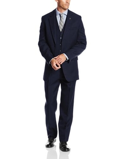 Stacy Adams  - Suny Vested Three-Piece Suit