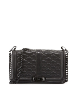 Rebecca Minkoff - Love Quilted Turn-Lock Crossbody Bag