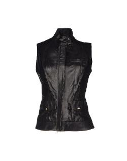 Who*s Who  - Leather Vest Jacket