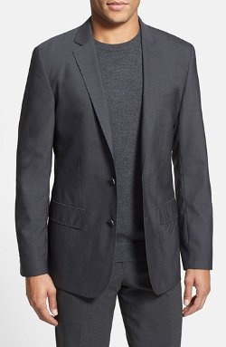 Calibrate - Trim Fit Wool Blend Blazer
