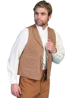 Scully - Wahmaker Leather Range Vest