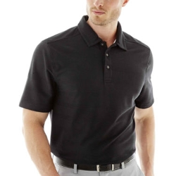 CBUK - Textured Striped Polo Shirt