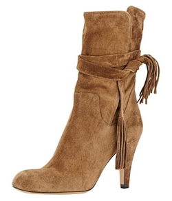Guoar - Strappy Ankle Boots