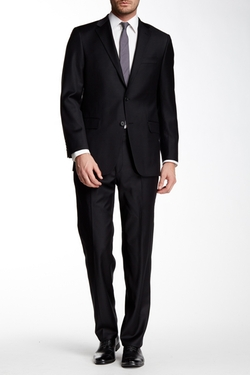 Hickey Freeman - Notch Lapel Wool Suit