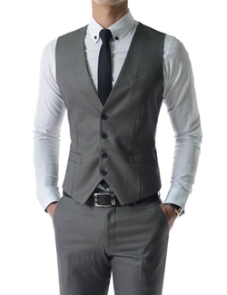 The Lees - Slim Fit Checker Vest