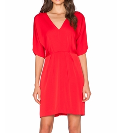 Milly - Dolman V Neck Dress