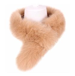 Galsang - Fox Fur Collar Scarf