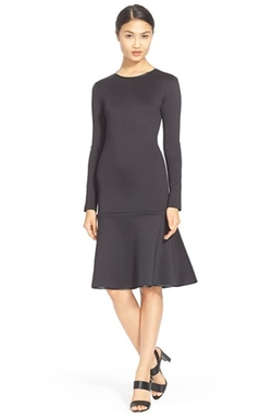 Clover Canyon - Long Sleeve Drop Waist Dress