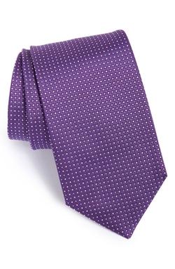 Boss  - Dot Silk Tie