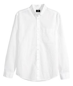 H&M - Linen-Blend Shirt