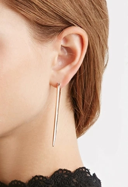 Forever 21 - Cutout Triangle Drop Earrings