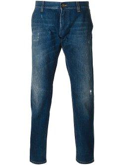 Dolce & Gabbana  - Stone Washed Jeans