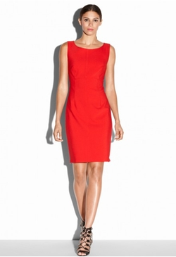 Milly - Zip Sheath Dress