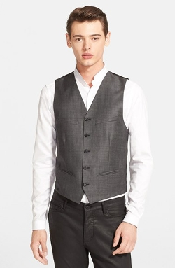 The Kooples - Trim Fit Wool Vest