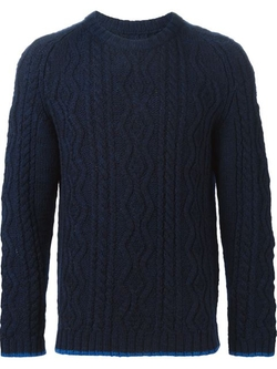 08sircus - Cable Knit Sweater