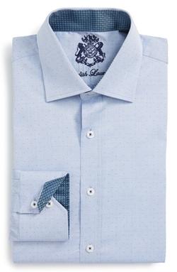 English Laundry  - Trim Fit Dot Dress Shirt