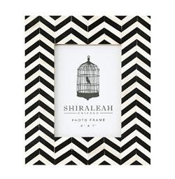 Shiraleah - Loft Chevron Inlay Picture Frame