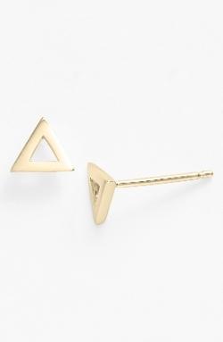 Bony Levy - Triangle Stud Earrings
