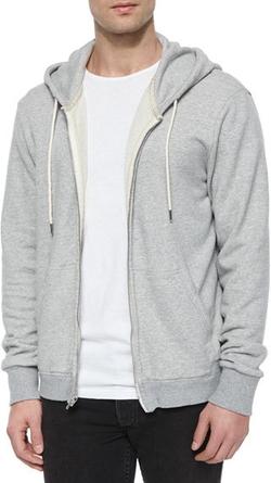 Rag and Bone - Full-Zip Hooded Sweatshirt