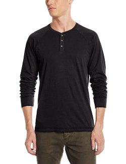 Velvet by Graham & Spencer - Long Sleeve Henley Shirt