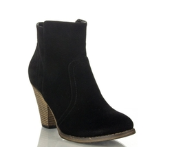 Room Of Fashion - Stacked Block Heel Ankle Booties