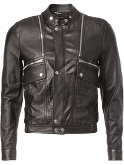 Saint Laurent   - Classic Leather Jacket