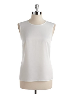 Nipon Boutique - Sleeveless Satin Cami Top