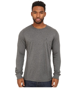 French Connection - Cotton Modal Mixed Long Sleeve Shirt
