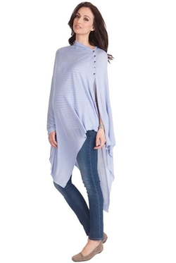 Seraphine - Madison Maternity Summer Bamboo Poncho