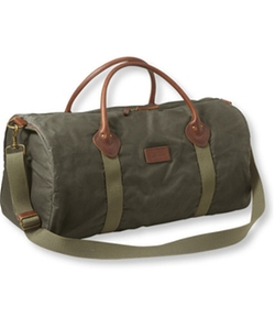 L.L.Bean - Heritage Waxed Canvas Duffle Bag