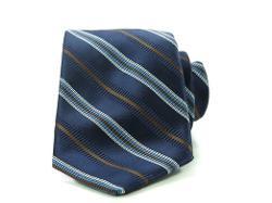 Robert Talbott  - Necktie Silk Blend Textured Striped Classic Length