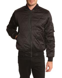 SURFACE TO AIR - Quilted Bomber Jacket