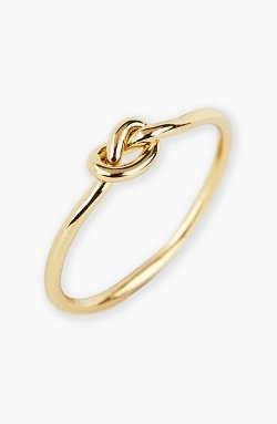 Argento Vivo - Mini Knot Ring