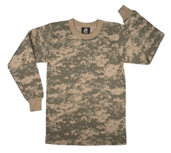 Rothco  - Boys Long Sleeve Army T-Shirt