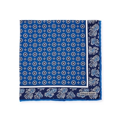 Edward Armah - Printed Silk Pocket Square