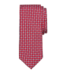Brooks Brothers - Oval Link Print Tie
