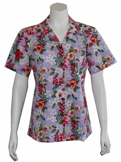 Alohawears Clothing Company - Floral Hawaiian Camp Shirt